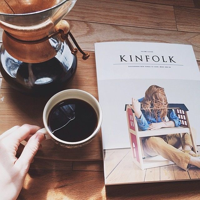 coffee + kinfolk