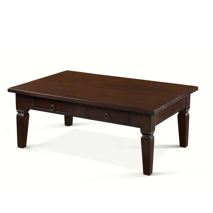 Classic Coffee Table Dark Teak | Coffee table, Teak ...