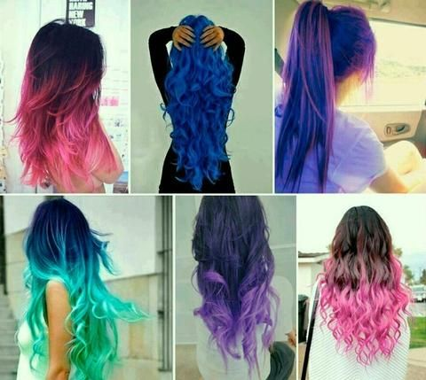 Crazy fun hair color ideas