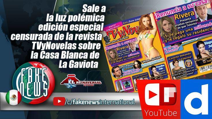 Sale a la luz polémica edición especial censurada de la revista TVyNovelas