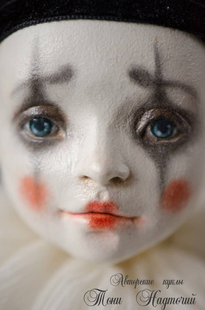 Pierrot by DollsTonyNadtochiy on Etsy