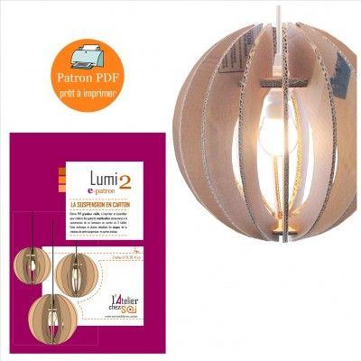 41 best images about luminaires carton papier on pinterest. Black Bedroom Furniture Sets. Home Design Ideas