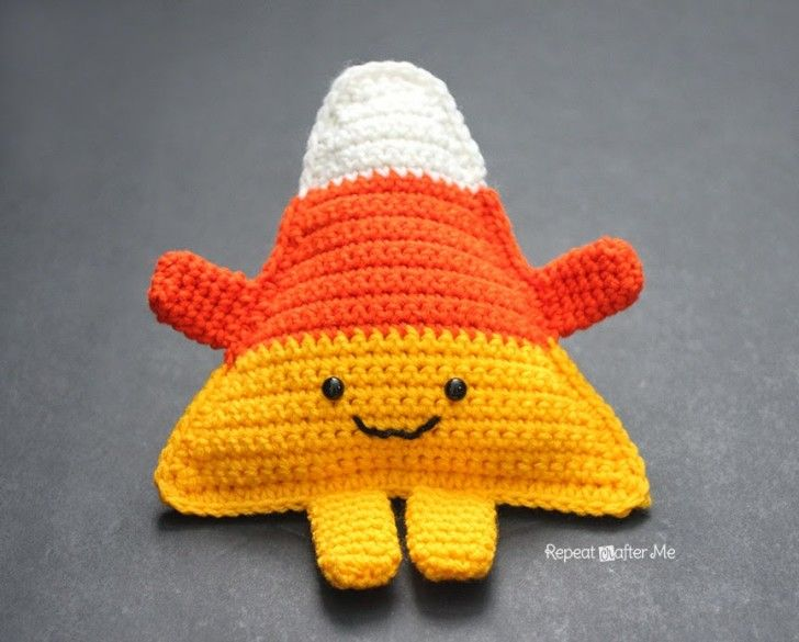 Meet the cutest most Cuddly Crochet Candy Corn you will ever see! Zero calories but still full of sweetness You must add this little guy to your Halloween decor or give it as a gift to your kids or grandkids. My kids are already fighting over this one so it looks like I will need …