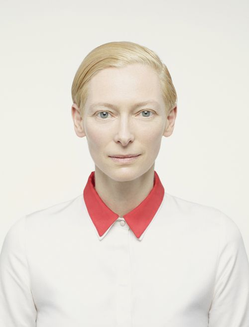 Tilda Swinton. Photograph by Peter Hapak—one of my favorite current portrait photographers