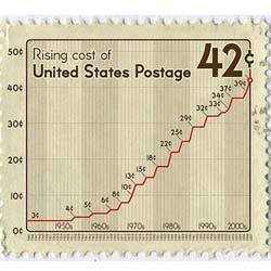 U.S. 42 cent postage stamp