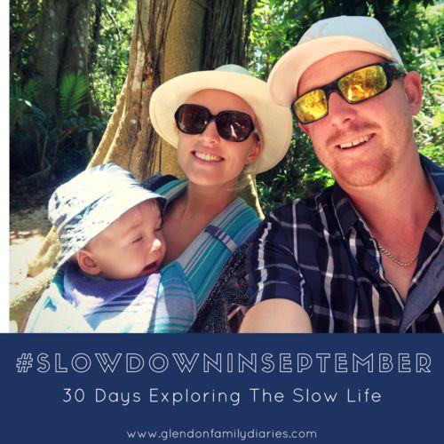Join Me For #SlowDownInSeptember