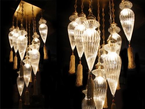 9'lu Osmanlı Sarkıt #ottoman #osmanli #lighting #aydinlatma