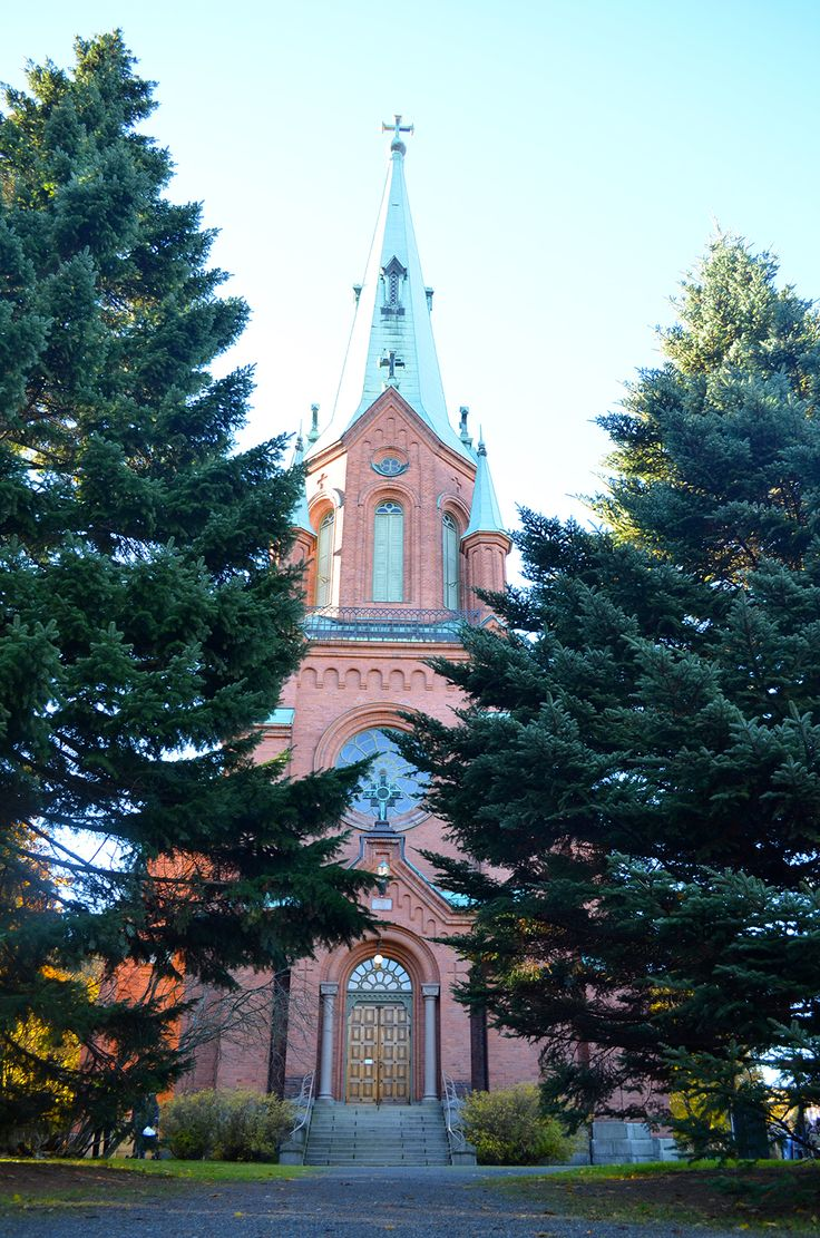 Russian Church in Tampere, Finland.