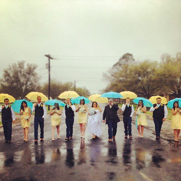 ashley loves: Rain on Your Wedding Day