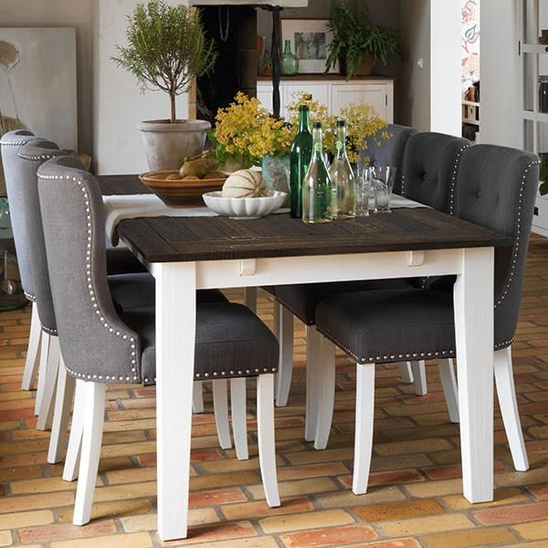 Create contemporary Scandinavian look in your dining room with a Nottingham  Extending Dining Table   Adele Chairs  Swedish furniture with Free UK  Delivery. 987 best Dining Tables images on Pinterest   Reclaimed wood dining