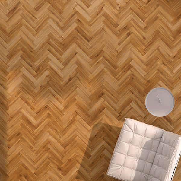 PVC-vloeren Moods Herringbone Small TR Classic Oak 24438
