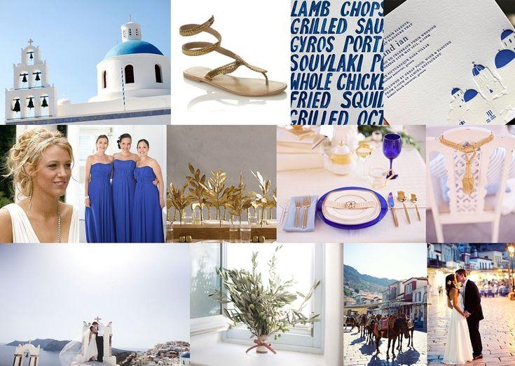 Inspiration Board: Santorini Dreaming