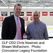 NHL Veterans Pledge Their Brains to Research    THURSDAY, Feb. 23, 2017 (HealthDay News) — Several former National Hockey League players have joined the growing number of pro athletes who have pledged their brains to research on chronic traumatic encephalopathy (CTE) — a...
