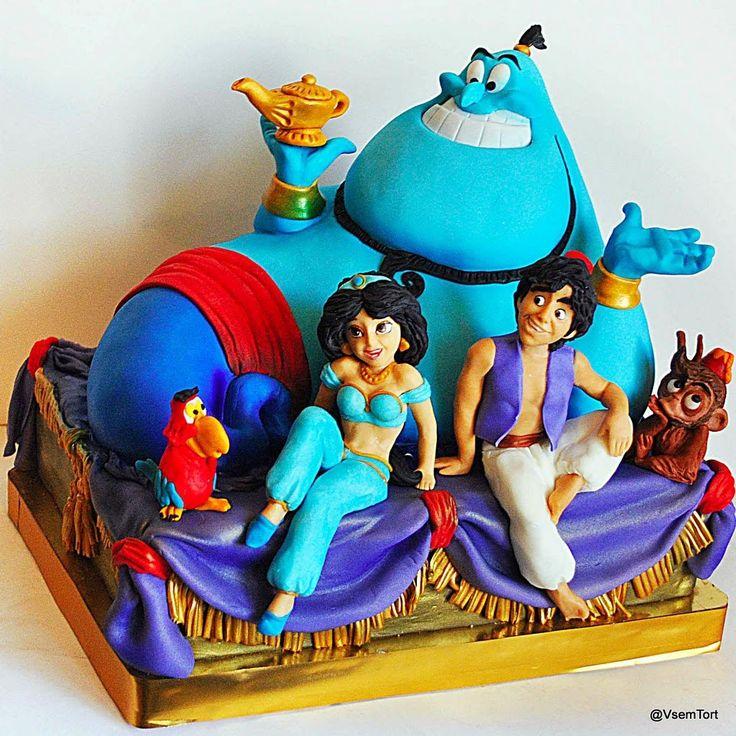 Торт Аладдин. Заказ торта в Москве на день рождения для детей