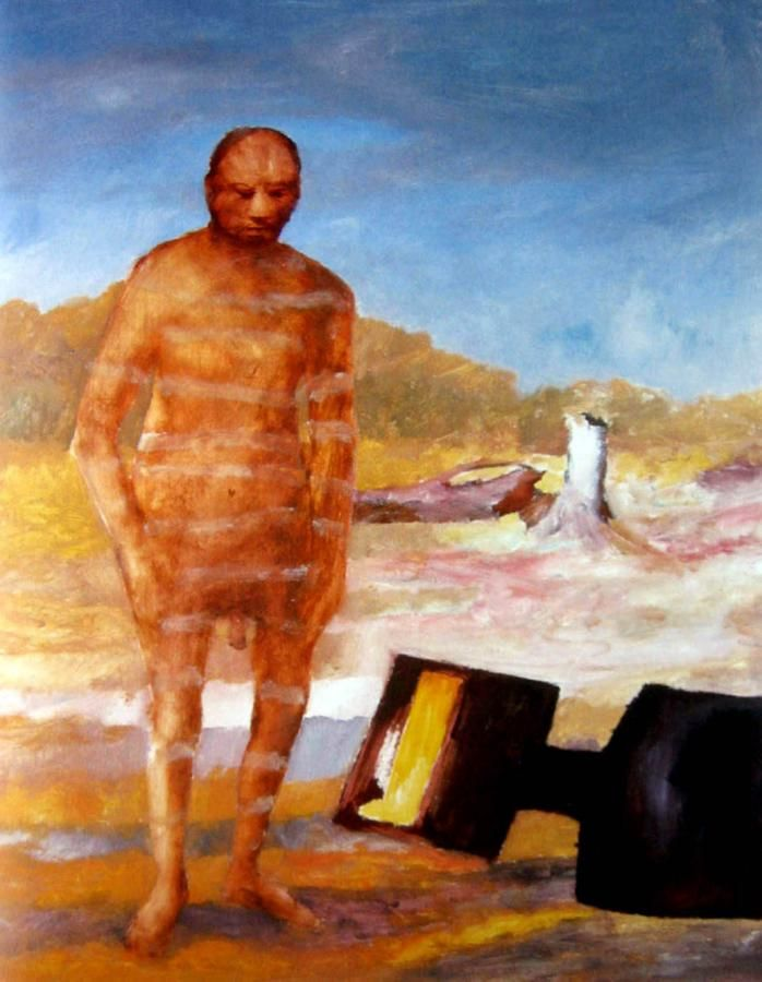 Sidney Nolan: Kelly and Armour from the Ned Kelly series