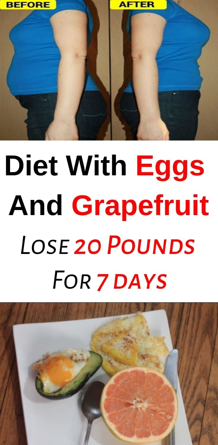 Diet With Eggs And Grapefruit – Lose 20 Pounds For 7 days