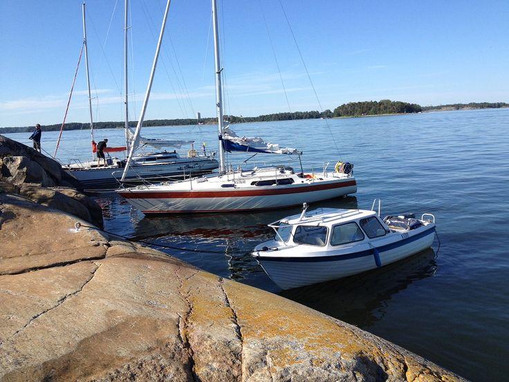 Boating in Helsinki