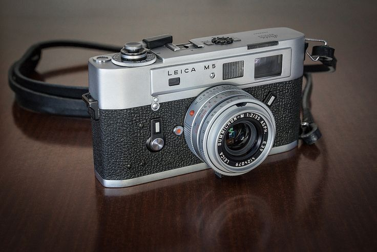 My Leica M5 with current 35mm Summicron f/2.