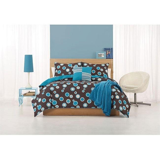 Best Ocean Bedroom Images On Pinterest Ocean Bedroom - Blue and brown teen bedding
