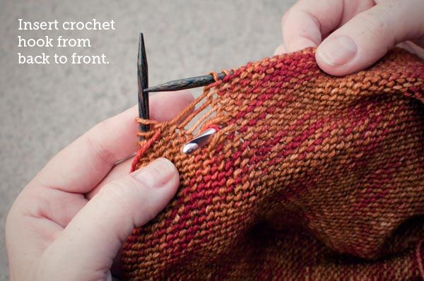 How To Cast On Stitches For Knitting With A Crochet Hook : 102 best Knitting images on Pinterest Knifty knitter, Knitting tutorials an...