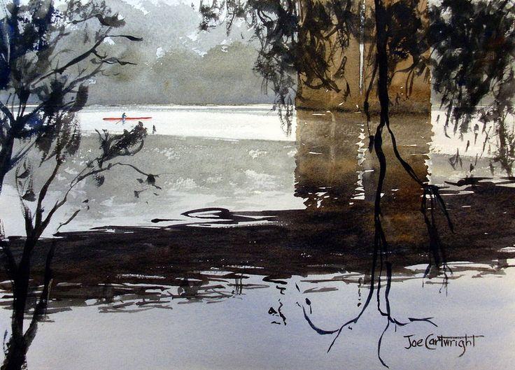 Watercolour Painting Gallery - Watercolour-Painting Joe Cartwright.