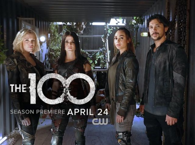April 24 #the100 Offical Poster date