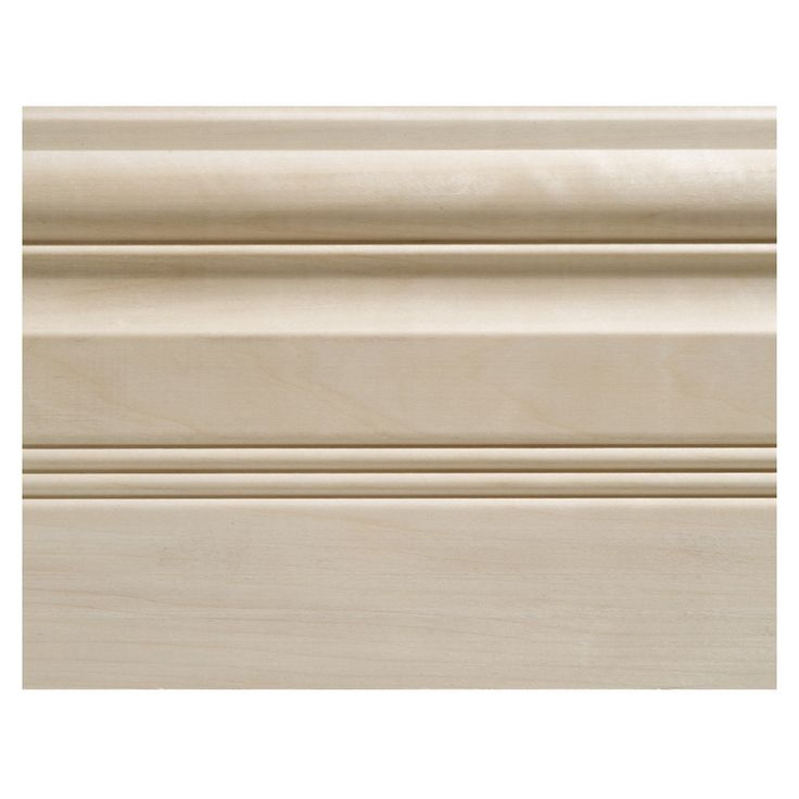 Shop 0.69-in x 5.5-in x 8-ft Interior Whitewood Base Moulding (Pattern 07359) at Lowes.com