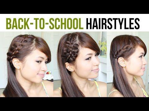 Back to School Hairstyles: 4-Strand French Braid & Bow Braid Tutorial - YouTubeBraid Hairstyles, Braids, braids tutorial, braids for short hair, braids for short hair tutorial, braids for long hair, braids for long hair tutorials... Check more at http://app.cerkos.com/pin/back-to-school-hairstyles-4-strand-french-braid-bow-braid-tutorial-youtube/