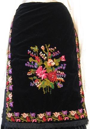 Serbian and Montenegran costumes