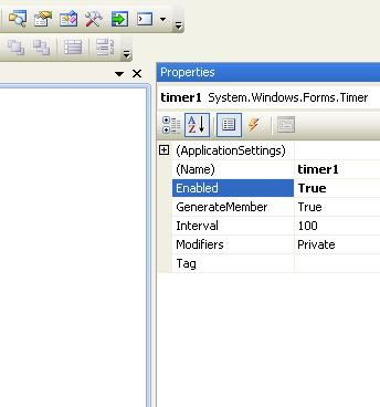Timer control in windows application