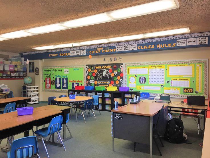 Star Wars Themed classroom. Star Wars Classroom decorations