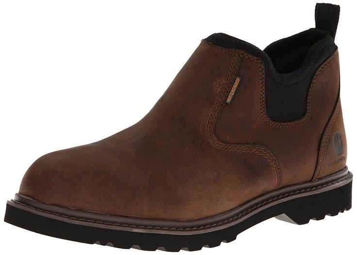 Carhartt Men's CMS4190 Romeo Soft Four Inch Waterproof Work Boot ** Special boots just for you. See it now! : Carhartt Boots