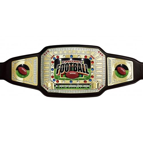 Fantasy Football Champion Award Belts SKU:AB501 TrophyPartner.com These lavish championship belts are perfect to recognize winners of a Fantasy Football League.