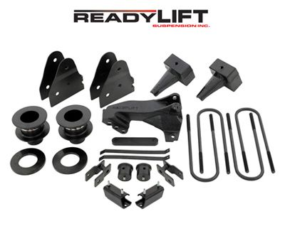 """Ford F250 Super Duty 4WD, 2011-UP - 3.5""""F/3.0""""R SST Lift Kit - For trucks with dually rear spring pack"""