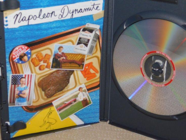 Napoleon Dynamite DVD, Jon Heder, Efren Ramirez, Jon Gries, Greg Hansen, Chris S