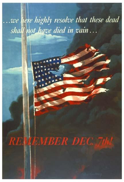 Pearl Harbor Sunday December 7, 1941