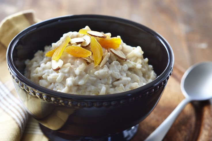 This creamy slow cooker rice pudding is comfort food at its best. Add the ingredients to a slow cooker for vanilla-scented creamy rice pudding.