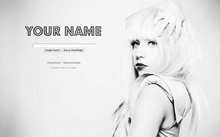 Lady Gaga Theme from ShinySearch