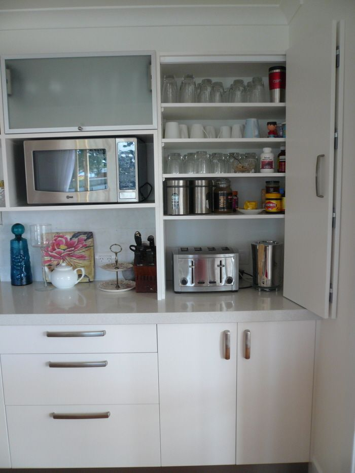 Beach House Pantries The Utilities Cupboards Are