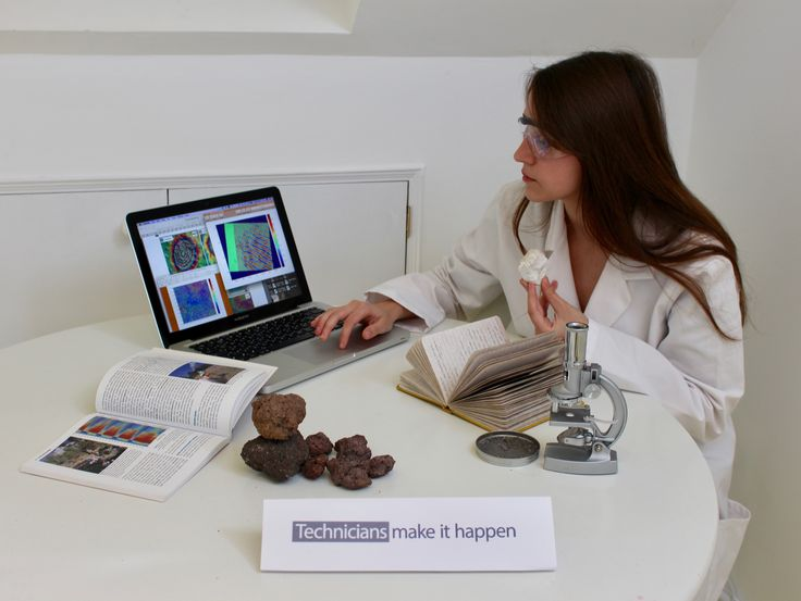 """Emma Mitchell (13 yo), Bradley Stoke Community School, Volcanologist Technician """"Here is a volcanologist technician, processing satellite data, producing interferograms of deforming volcanoes and analysing volcanic deposits all from Latin America. Through her work we can gain a greater knowledge about volcanoes, therefore reducing the impacts and causalities of future eruptions."""""""