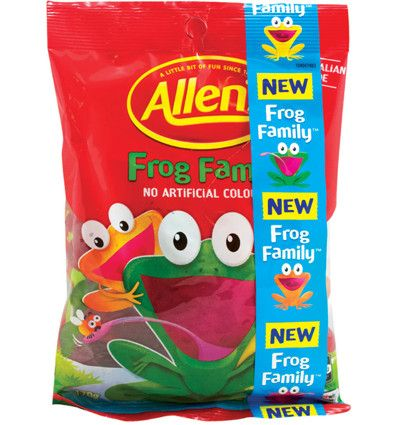 Allens Frogs Family 190g x 12