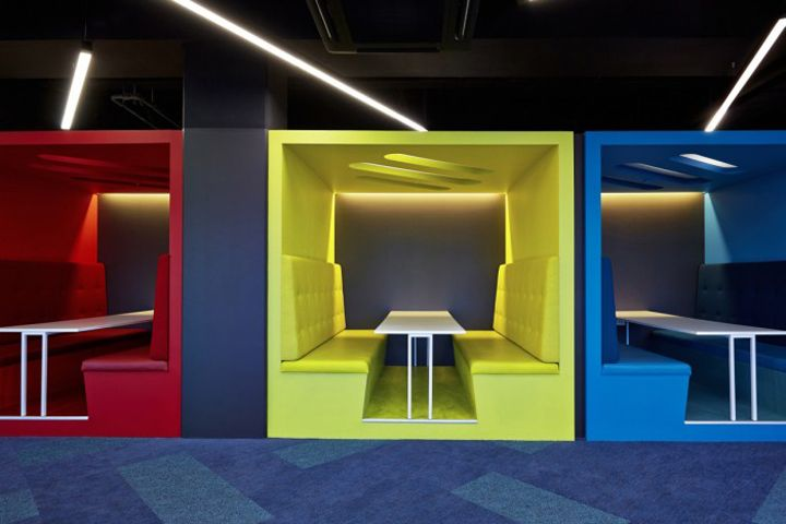 82 best office interiors quiet booths images on for Office design new zealand
