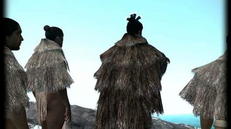 Maori Legend Animation: Ngatoroirangi.