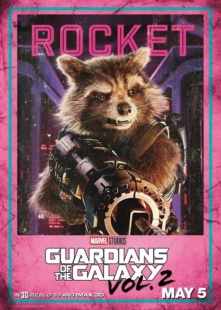 Rocket - Guardianes de la Galaxia Vol. 2 #Poster
