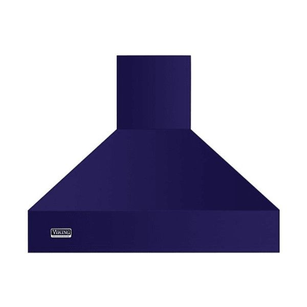 Viking VCWH53648 36 Inch Wide Wall Mounted Range Hood with LED ($2,469) ❤ liked on Polyvore featuring home, home improvement, household appliances, cobalt blue, range hood and wall mounted