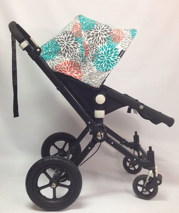 Spring/summer 2014 custom bugaboo hood for Cameleon, frog, bee, donkey