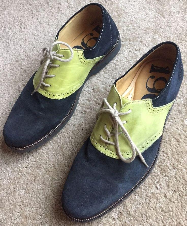 Midnight blue dress shoes