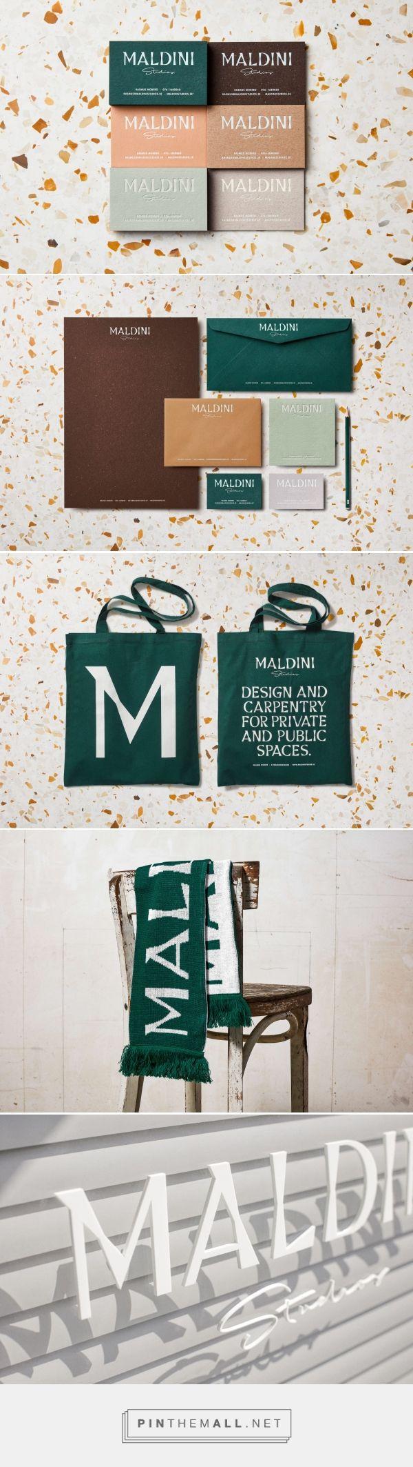 Maldini Studios Interior Design and Carpenter Firm Branding by Jens Nilsson | Fivestar Branding Agency – Design and Branding Agency & Curated Inspiration Gallery #design #designinspiration #branding #brandidentity #stationery