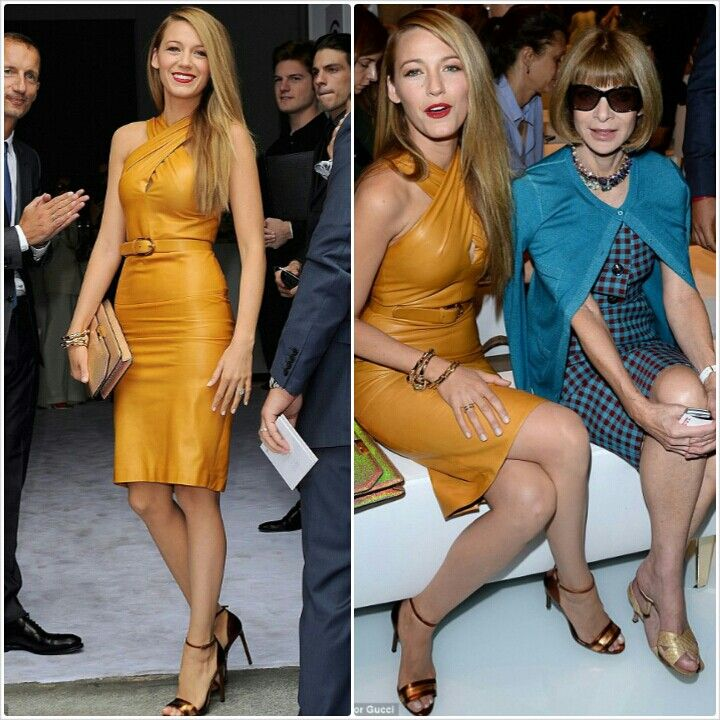 fashion week with blake lively and anna wintor