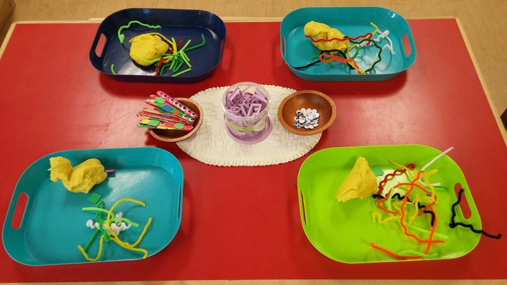 Play Dough Provocation